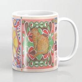 Cat Tiles Coffee Mug