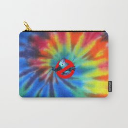 Ghostbusters Psychedelic No Ghost - Tie Dye Shambhala Carry-All Pouch