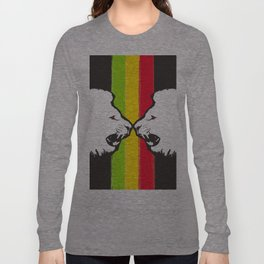 Rasta Lions (The Kingdom) Long Sleeve T-shirt