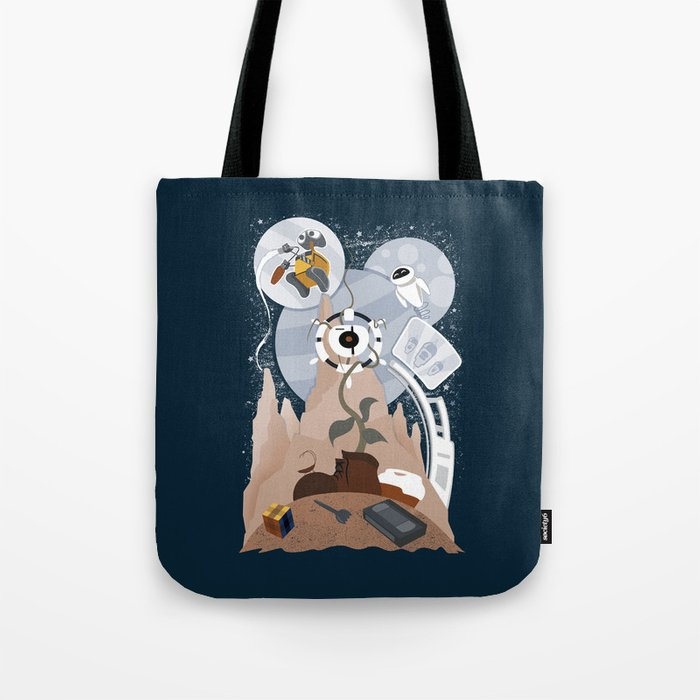 Tribute to Wall-e Tote Bag