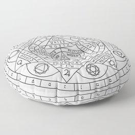 Hermetic Principles Floor Pillow