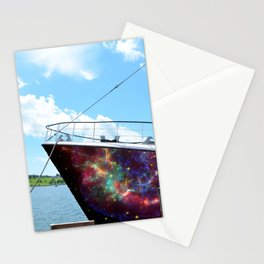 Space Ships Stationery Cards