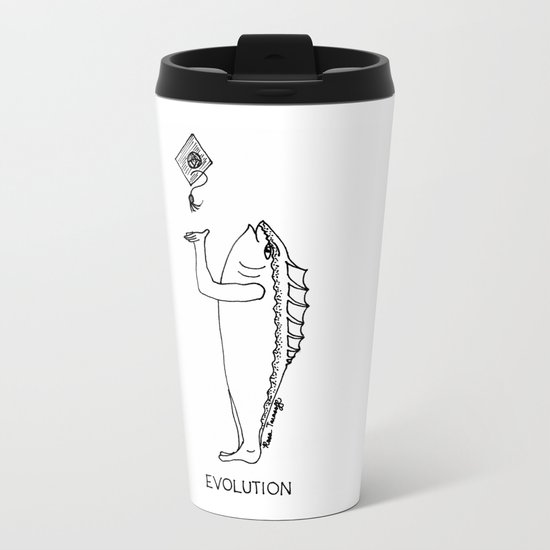 Evolution Metal Travel Mug