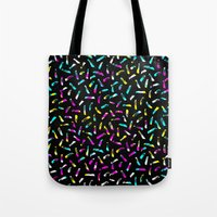madonna Tote Bags featuring Madonna by elena + stephann