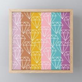 Gem City Framed Mini Art Print