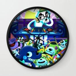 Animal Crossing DJ KK Slider Wall Clock