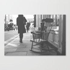 The rocking chair Canvas Print