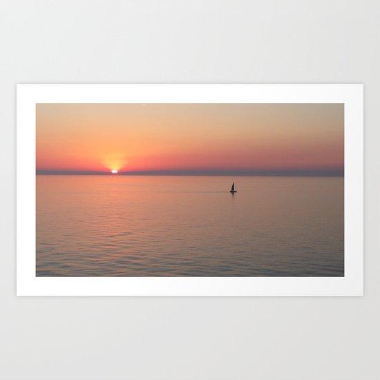 Sail Away, Sail Away Art Print