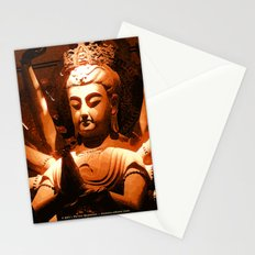 durga, indian goddess Stationery Cards