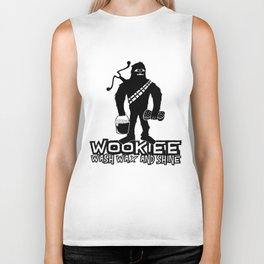 Wookiee Wash Wax and Shine Biker Tank