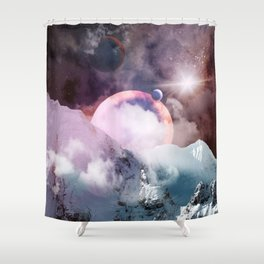 Amazing Galaxy Shower Curtain