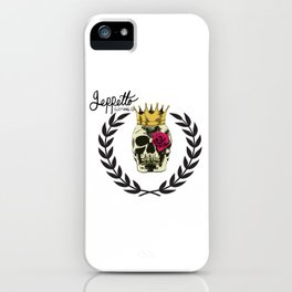 Geppetto Eye Rose iPhone Case