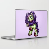 my little pony Laptop & iPad Skins featuring Zombie My Little Pony by Hungry Designs
