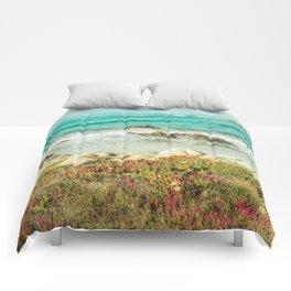 Scenic Photography, Beach, 17 Mile Drive, Monterey, Pebble Beach, Pacific Grove,  Comforters
