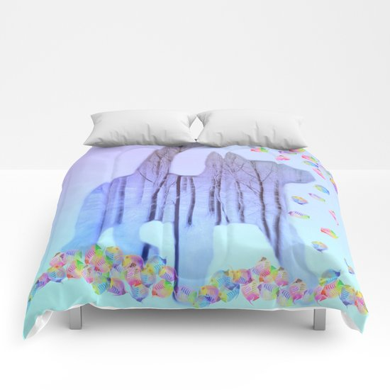 Cat Dreams Comforters