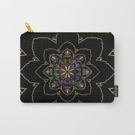 Mandala of Wishes Carry-All Pouch