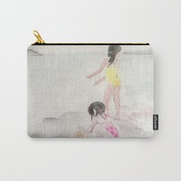 Girls on the beach Carry-All Pouch