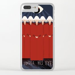 Under His Eye Clear iPhone Case