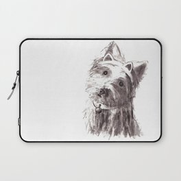 Bon Bon - the cat-like dog Laptop Sleeve