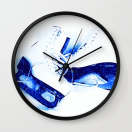 Anyone For Skating? Wall Clock