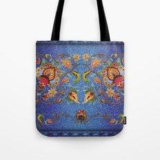 Denim Designs Jacobean Border Tote Bag