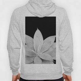 Gray Agave on Black #2 #tropical #decor #art #society6 Hoody