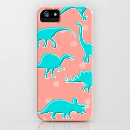 Dino Alley iPhone Case