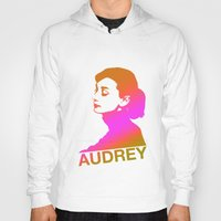 audrey Hoodies featuring Audrey by Bright Enough💡