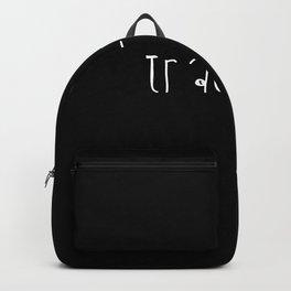 Trau-ma Logo Backpack