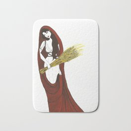 The Lady Demeter, Earth Mother Bath Mat