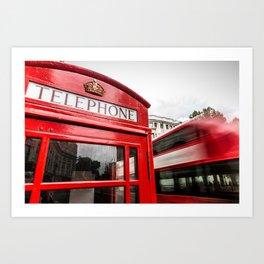 Iconic London Art Print