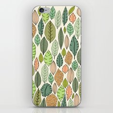 Leaf fall iPhone & iPod Skin
