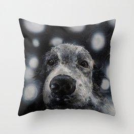 Spots Throw Pillow