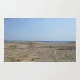 the desert and the sea Rug