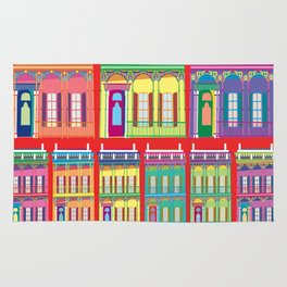 NEW ORLEANS HOUSES Rug