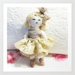 Doll in Lace~ Art Print