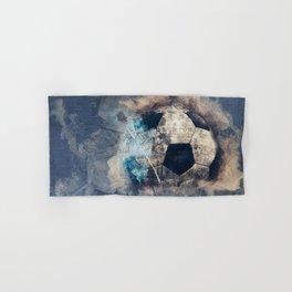 Abstract Grunge Soccer Hand & Bath Towel