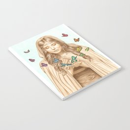 The Butterfly Girl Notebook
