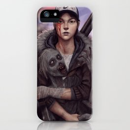 grown up clementine  iPhone Case