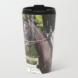 Dark Bay Horse Travel Mug
