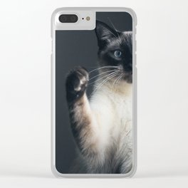 Satisfaction Brought It Back Clear iPhone Case