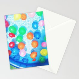 Celebratory Balloons Stationery Cards