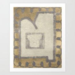 Chimney Art Print