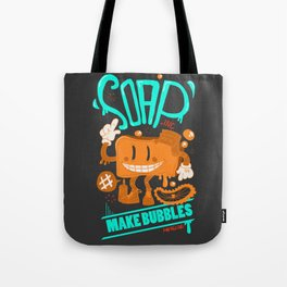 Soap make bubbles Tote Bag
