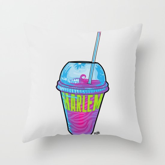 Harlem Shake Throw Pillow