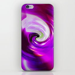 """New Wormhole"" Print iPhone Skin"