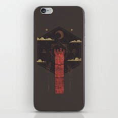 The Crimson Tower iPhone & iPod Skin