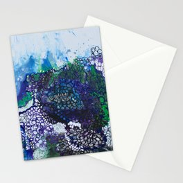 Into The Drink She Goes Stationery Cards