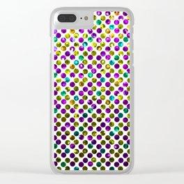 Polkadots Jewels G192 Clear iPhone Case