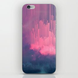 Sweet Stormy Glitches iPhone Skin